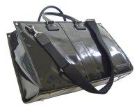 ドイツ製完全防水生地2way トートブリーフ45 「HL」ブラック Made in Japan/Fabric from Germany