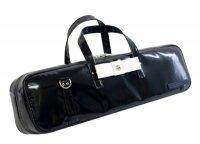フルート&ピッコロ 横置き型(C管)ケースガード 「Grand Master2/wf」 ブラック /ホワイトリボン