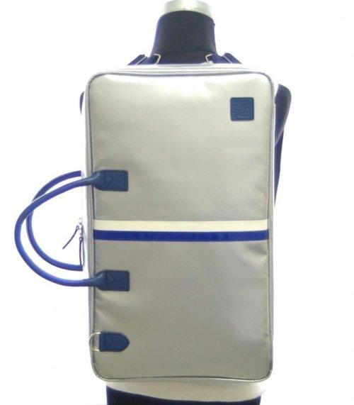 1: ショルダーベルト 紺 3.8cm幅