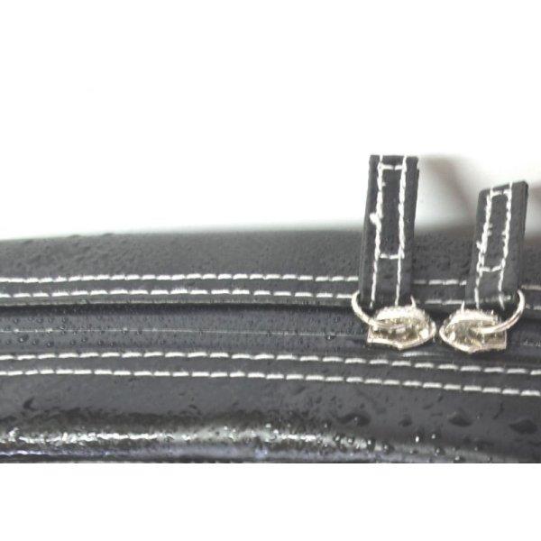 画像2: リュック式エレキギターギグケース 「The Expendables 2/wf」 マットブラック【ドイツ製完全防水生地×特殊温度調整機能&衝撃吸収素材+止水ファスナー】 Fabric from Germany, Made in Japan